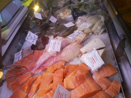 Fish stall Grainger Market  Picture of Grainger Town Newcastle