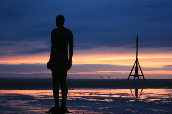 England - Cultural life m Antony gormley another place photographs