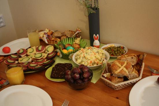 Home Made House: Traditional Lithuanian Easter breakfast