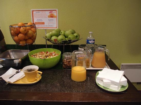 Ibis Styles Fontenay : breakfast choices