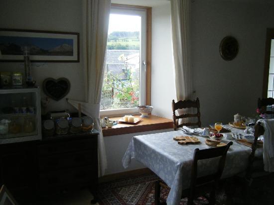 The Barn B&B: The breakfast room