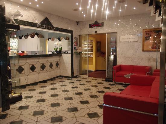 Luzernerhof Hotel: lobby