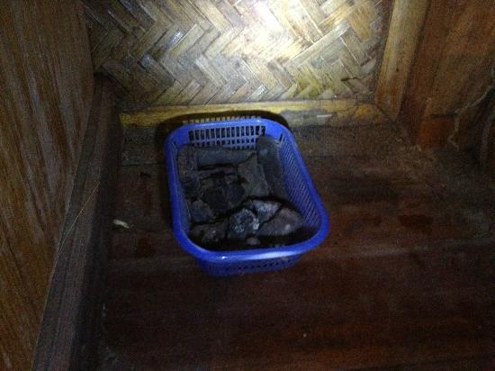 Rivertime Resort and Ecolodge: more dirt and coal ? in basket