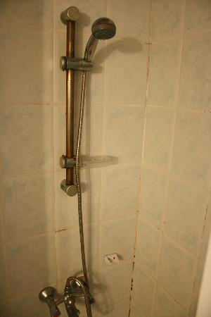 Akdeniz Apart Hotel: muffa nel box doccia