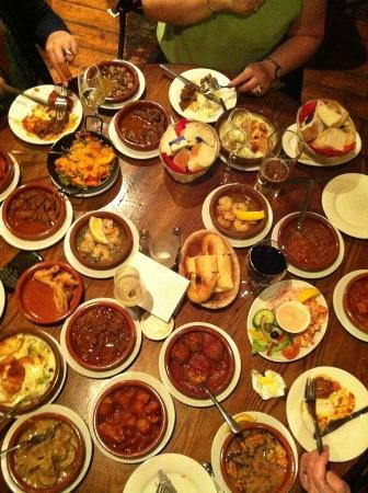 La Mancha: a lot of tapas!
