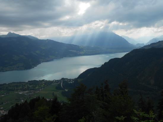 Harder Kulm : View of Lake Brienz