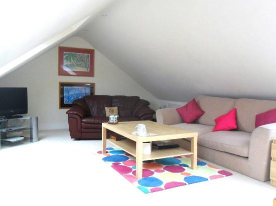 Pearfield Bed and Breakfast: Sitting room from suite