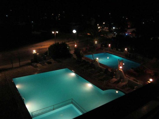 Christos Studios: View from terrace of room 4