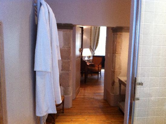 Au Clos d'Amélie : Salle de bain Terre Noire