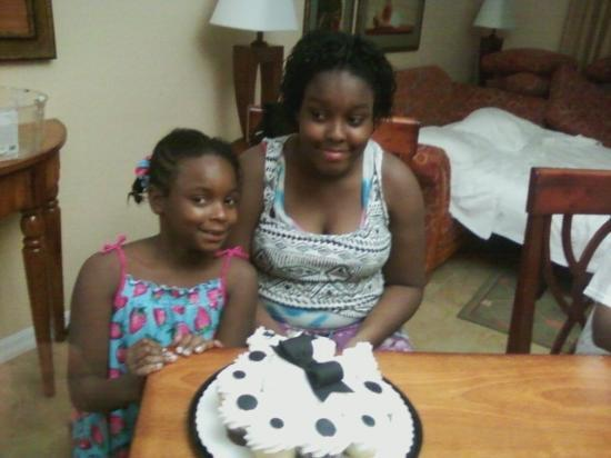 Vacation Village at Parkway : Celebrating the Grand daughters Birthdays