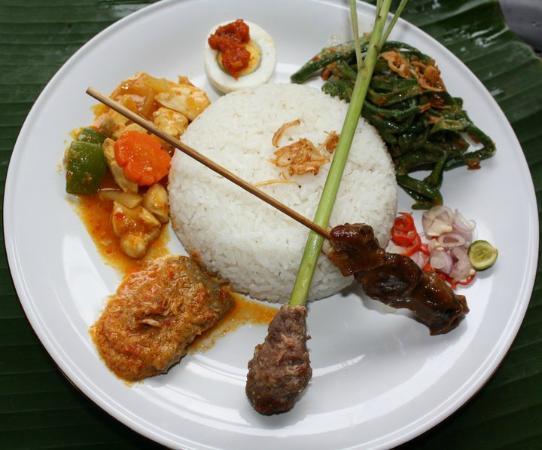 de Bali Cafe and Resto: Nasi Campur
