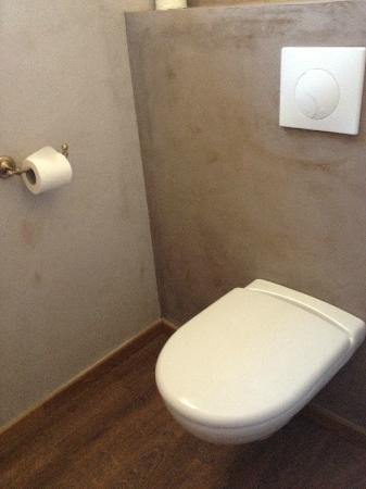 Le Crillon Hotel: toilet