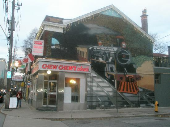 Photo of American Restaurant Chew Chew's Diner at 186 Carlton St, Toronto M5A 2K6, Canada