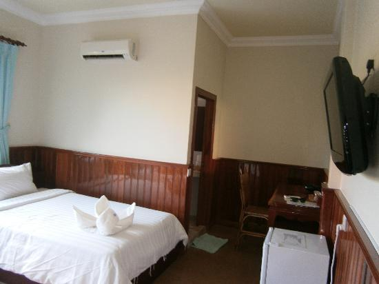 Siem Reap Garden Inn: My standard twin bed room