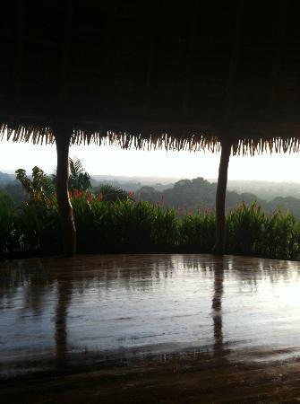 كوستاريكا يوجا سبا: View from Yoga Rancho 
