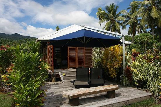 Aroha Taveuni: Our veranda