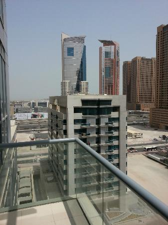 Mazoon Hotel Apartments: view from balcony
