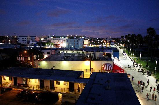 Venice Beach Suites & Hotel: vue du studio