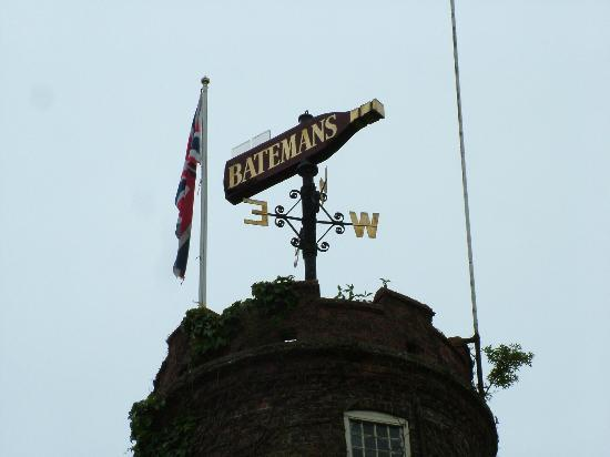 Wainfleet All Saints, UK: Windmill weathervane