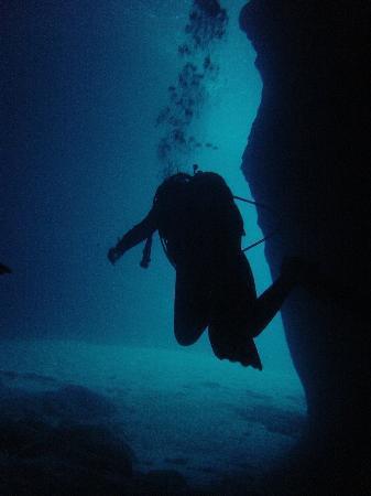 Sardinia Divers: Am Ende des ersten Höhlentauchganges