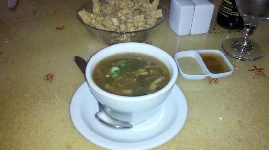 The Mandarin: Great Hot and Sour Soup