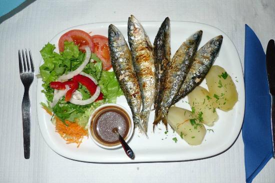 Restaurante O Antonio: O Antonio Sardinen