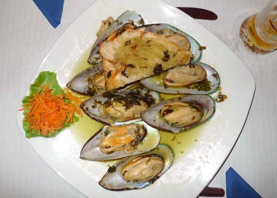 Restaurante O Antonio: O Antonio Muscheln