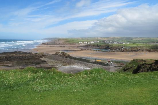 Bude, UK: View from South West Coast Path