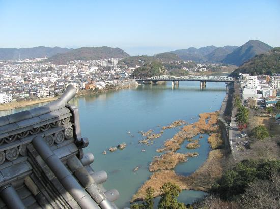 Inuyama, Japón: View from the balcony