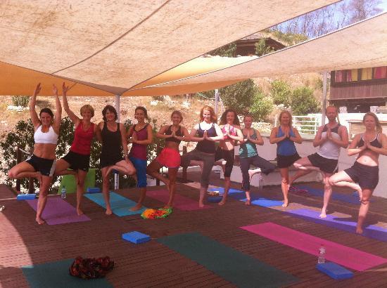 Ibiza Yoga: Namaste!