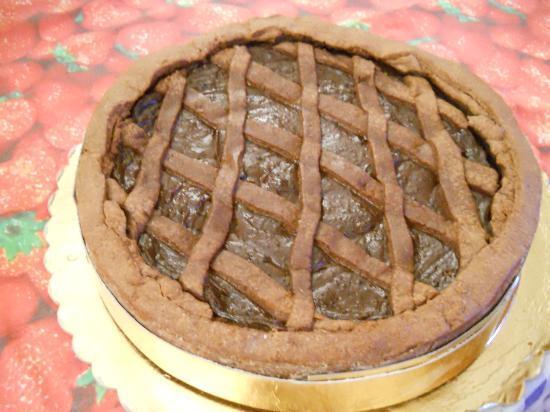 Residenza Agrituristica Contrada Guido: Crostata alla crema di cioccolato