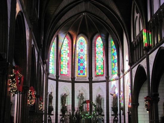 Inuyama, Japón: Church decorated for Christmas, Meijimura