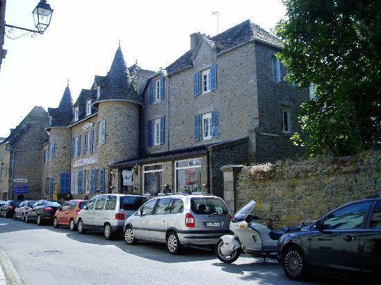 Hotel d'Angleterre: La façade avant de l'hôtel