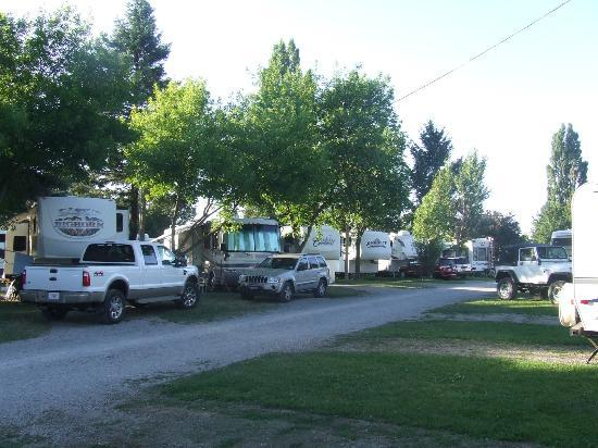 Spokane KOA: main campground