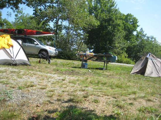 Bar Harbor Campground: Our camp H 6