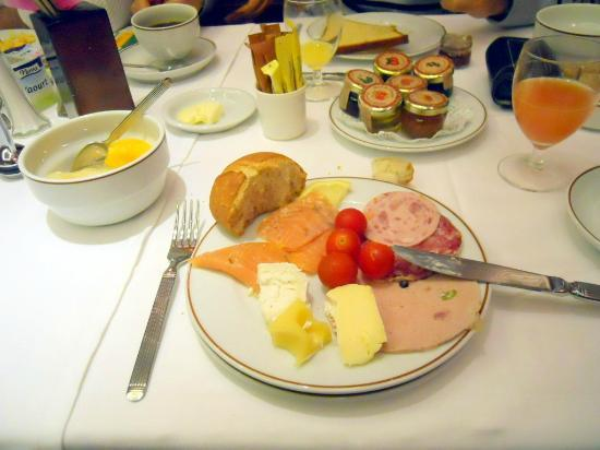 Hôtel Chateau Frontenac: Breakfast