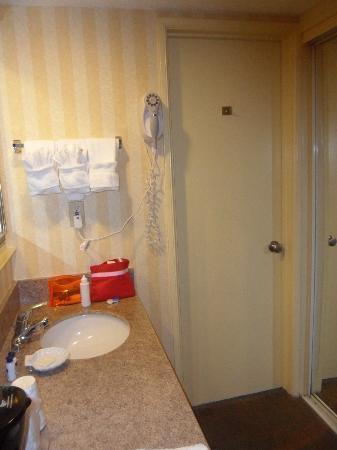 BEST WESTERN PLUS Hill House: el armario de ducha e inodoro