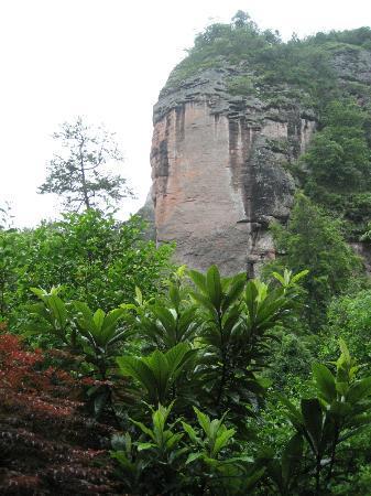 Taining Danxia Landform: the Buddha's head