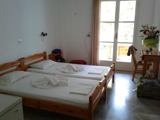 Villa Clio : Camera doppia (letti singoli)