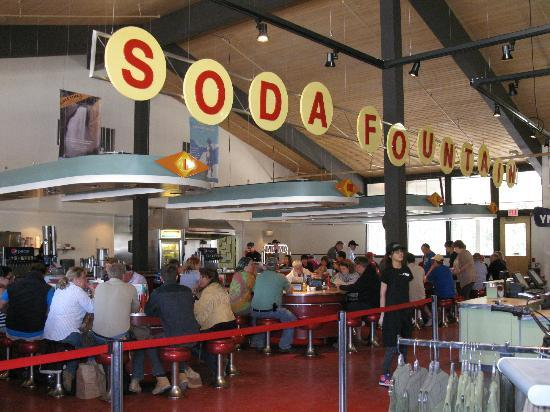 Canyon Lodge Cafeteria Old Time Soda Fountain Fun Good Food And Service