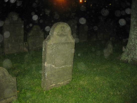 Ghost Walk of Historic Halifax: An evening of orbs in the Old Burying Ground, Halifax, Nova Scotia
