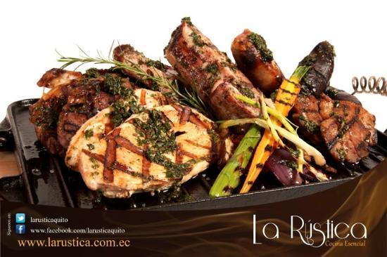 La Rustica Restaurante: Parrilla La Rústica