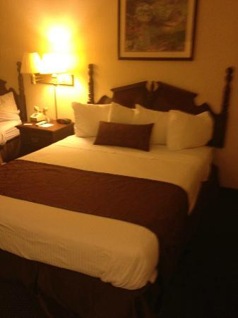 Best Western Greenwood: one of the queen size beds - very comfy
