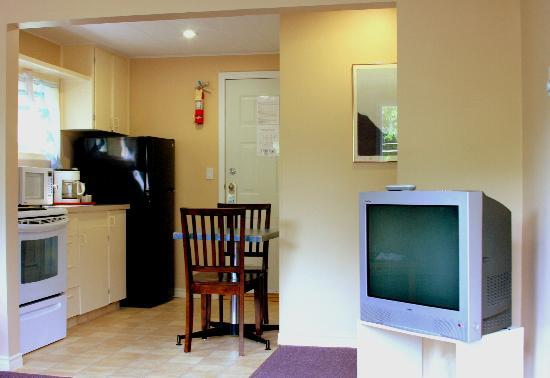 Villa Motel: The kitchen for our apartment suites