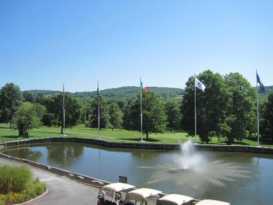 Villa Roma Resort and Conference Center: View from the Golf Clubhouse