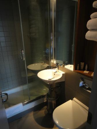 Hotel 55: Bathroom