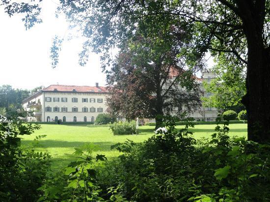 Vista (parcial) del Palacio de Possenhofen