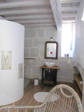 La Paloma: salle de bains céleste