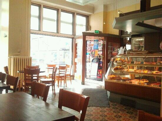 Cafe Bisketti: interno