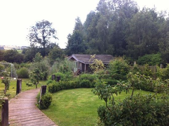 Timberstone Bed and Breakfast: the summerhouse